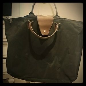👛Large Black Nylon Tote Bag